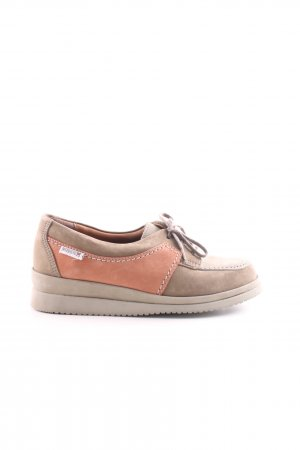 Mephisto Moccasins natural white-light orange casual look