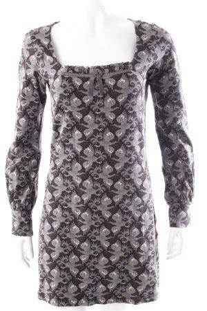 Mer du Nord Tunic Dress black-gray