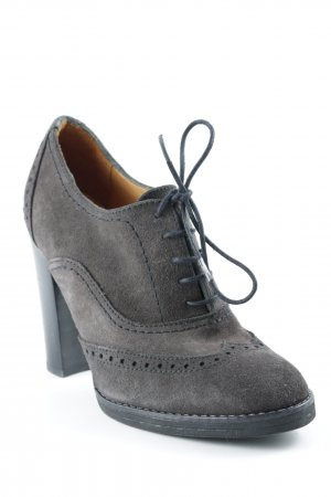 Mer du sud Lace-up Booties taupe-black casual look