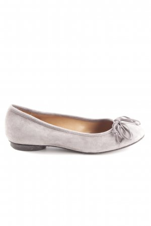 Mer du sud Slingback Ballerinas light grey business style