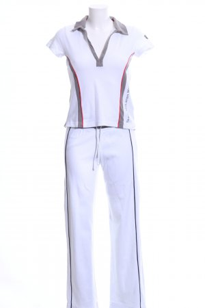 Mercedes Benz Collection Twin Set tipo suéter striped pattern athletic style