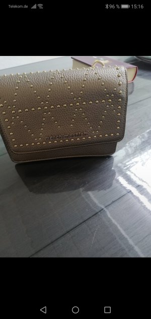 Crossbody bag gold-colored