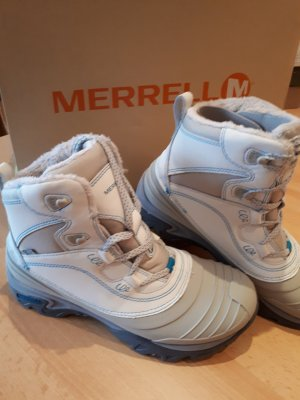 Lace-up Boots white-light grey