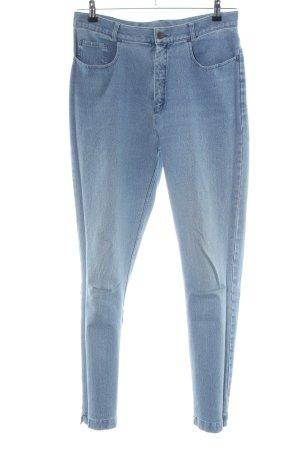 Mergler Jeans carotte bleu style décontracté