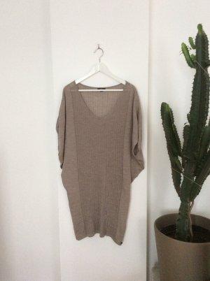 Merino Strick Kleid Shirt