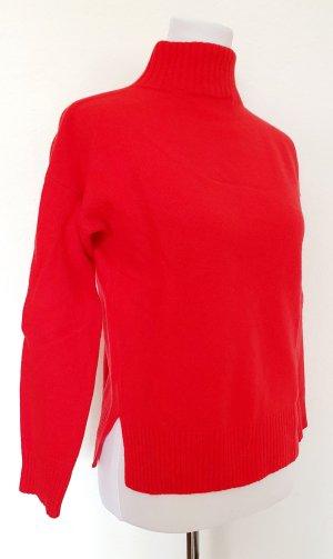 Christian Berg Wool Sweater red merino wool