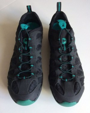 Merrell Klittenband Sportschoenen zwart-munt