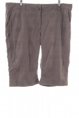 meru Pantalon 3/4 brun style décontracté