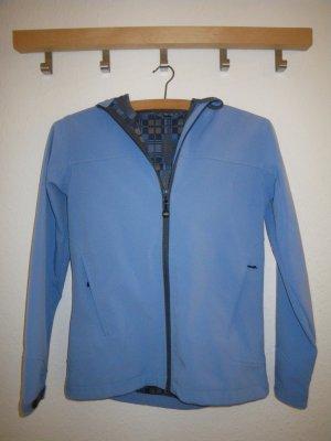meru Veste softshell bleu azur polyester