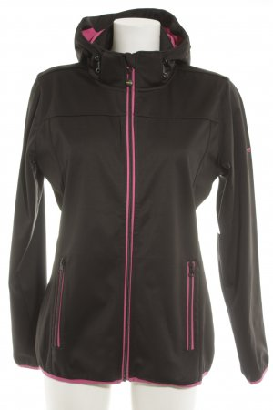 meru Windbreaker black-pink athletic style