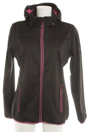 meru Windstopper schwarz-pink sportlicher Stil