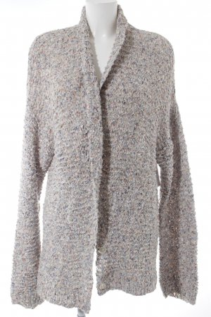 Mes Demoiselles Cardigan abstraktes Muster Casual-Look
