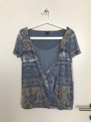 Mesh-Shirt von S.Oliver Premium Gr. S (eher M)
