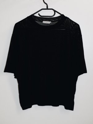 Urban Outfitters Mesh Shirt black