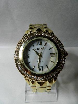 Orologio analogico oro-bianco Acciaio pregiato