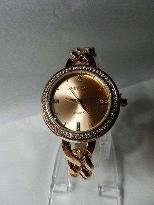 Orologio analogico color oro rosa Acciaio pregiato