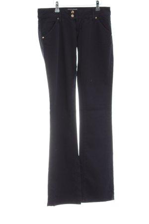 MET Boot Cut Jeans schwarz Casual-Look