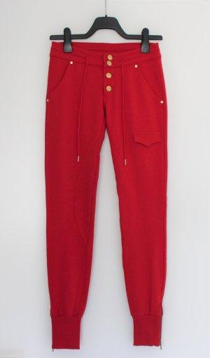 Met in Jeans Pantalon de sport rouge