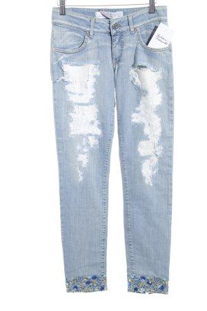 Met in Jeans Hüftjeans mehrfarbig extravaganter Stil