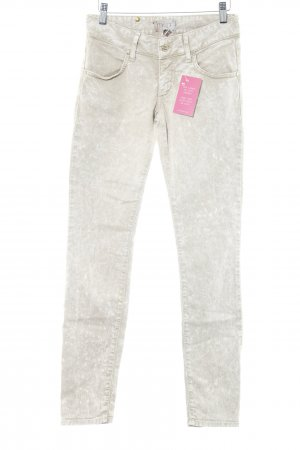 Met in Jeans Skinny Jeans beige Farbverlauf Casual-Look