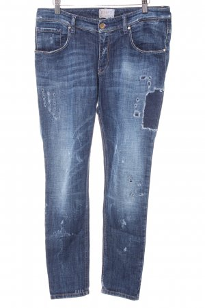 Met in Jeans Slim Jeans dunkelblau Casual-Look