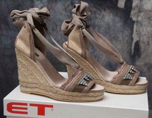 MET in Shoes ~ ITALY SANDALEN WEDGES ESPADRILLES ~ SIZE 36