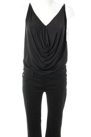 MET Jumpsuit schwarz Elegant