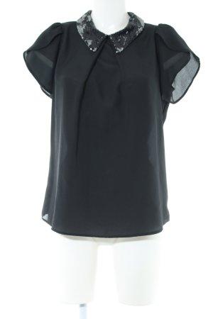 MET Kurzarm-Bluse khaki Casual-Look