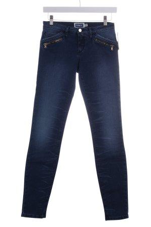 MET Skinny Jeans dunkelblau Casual-Look