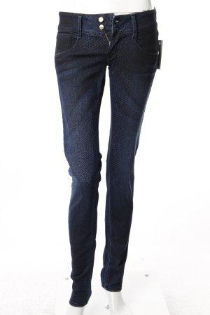 Met Skinny Jeans dunkelblau-schwarz