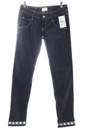 MET Skinny Jeans dunkelblau Street-Fashion-Look