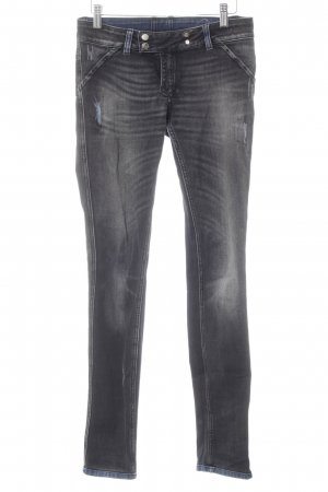 MET Skinny Jeans schwarz-dunkelblau Casual-Look