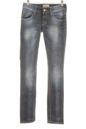 MET Skinny Jeans stahlblau Casual-Look