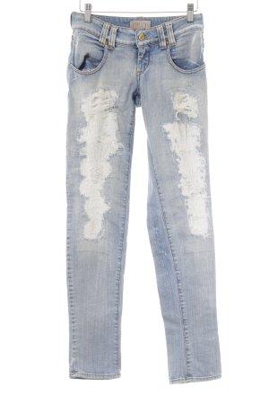 MET Slim Jeans mehrfarbig Destroy-Optik