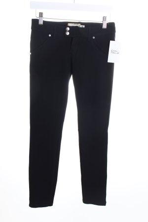 MET Stretchhose schwarz schlichter Stil