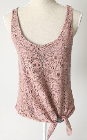 MET Crochet Top multicolored