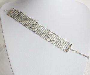 Metal Mesh Armband silberton