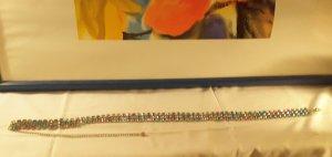 Metall Glas Gürtel mit 3 Farben, Länge 70 cm, Breite 3 cm