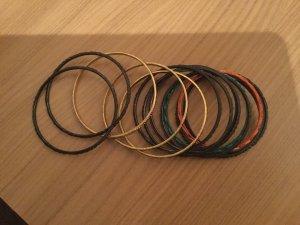 Bangle multicolored metal