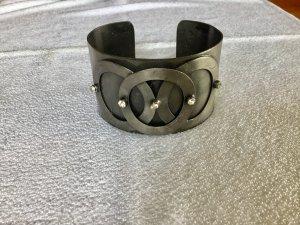 Brazalete gris oscuro metal