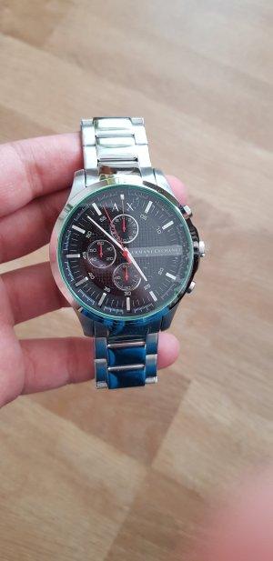 Metallband Uhr silber Armani