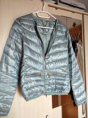 Metallic blaue Jacke, Gr. 36 von Amisu