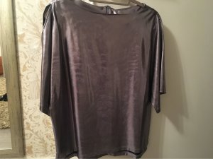 Maggie Oversized Blouse silver-colored