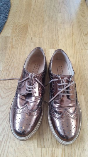 Another A Wingtip Shoes bronze-colored-gold-colored