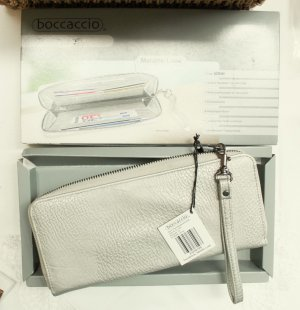 Wallet silver-colored