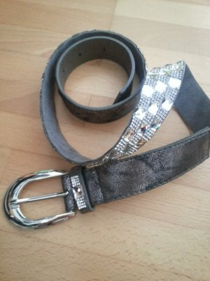 Studded Belt silver-colored