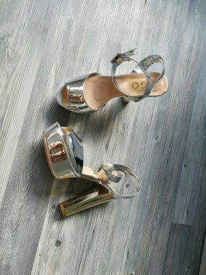 metallic heels ego offical