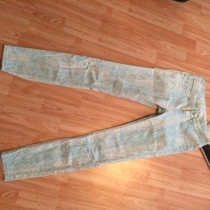 Drainpipe Trousers light grey