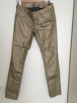 Metallic Jeans Unbenutzt