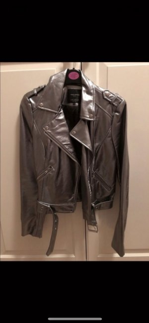 Zara Biker Jacket anthracite